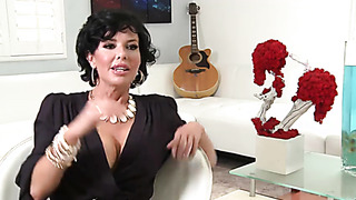 Famous pornstar MILF interview with hardcore sex video