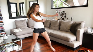 Kimmy Granger gets hard fucking from her stepbro