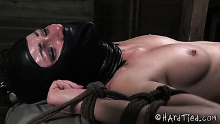 Hardtied - Veruca James is pushed to the edge of orgasm