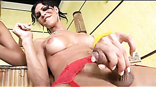 Shemale wanking compilation with a lot of ladyboys